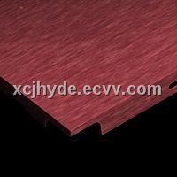 Red Brushed Aluminum Foil