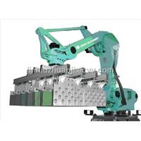 Robot stacking system