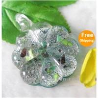 Crystalline Handmade Murano Glass Pendant  (A83)