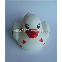Duck Shaped Vinyl Toy
