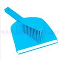 Plastic Dustpan with Brush Set