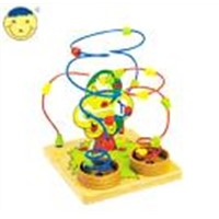 wooden beads game ,wooden toy