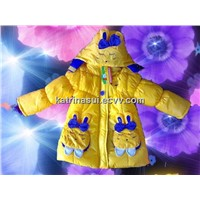 cute rabbit kids cotton-padded clothing