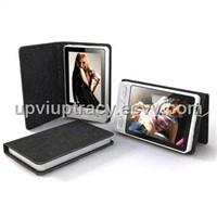 2.4 Inch Leather Case Digital Photo Frame