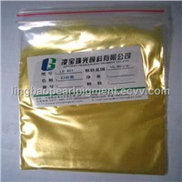 LB421 Magic Yellow Pearl Pigment
