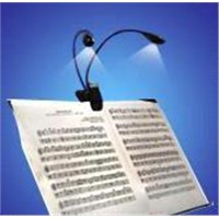 LED music stand light
