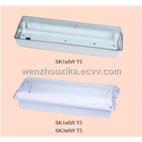 SK 1*8W Emergency Lighting Fitting/Light Fittings/Lamps