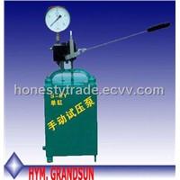 Ssy Manual Hydraulic Test Pressure Pump