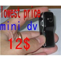 The world's smallest digital video camera with high resolution image mini dv D001