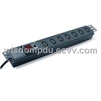 Intelligent PDU IP-PDU sockets and plug IP metered PDU