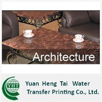 Water Transfer Printing for Architecture