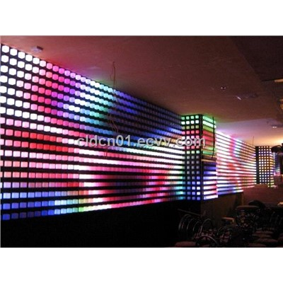 Led Crystal Background,LED Wall,LED Beads
