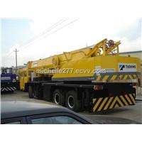 used truck crane TADANO TG-650E Japan