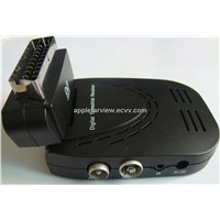 Rotary 90 Angle Scart DVB-T Receiver with Pvr