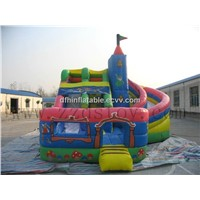 inflatable slide amusement park