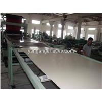PVC Macromolecule Free Paint Board Production Line