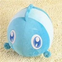 40CM Cuddly MoMo Ocean Series Plush Toy BLUE