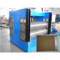 Aluminum coil embossing production line