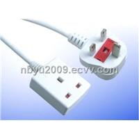 British-Style Squeeze-Type Plug