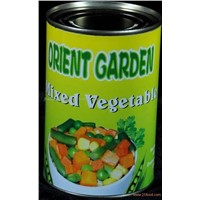 CANNED MIXED VEGETABLE IN TIN
