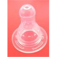 Emulation liquid silicone nipple