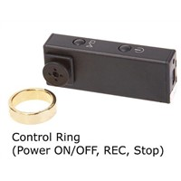 Hi Res Spy Button Camera with Magic Control Ring / Spy Camera