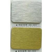 Metallic Drawing Aluminum Composite Panel