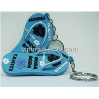 PVC key chain(key chain,key holder,soft pvc key cahin)