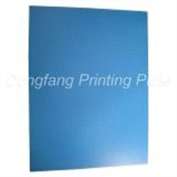 Positive Offset Printing Plate-blue coating