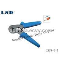 Self-Adjusting Crimping Pliers for Cable Ferrules