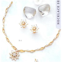 Gold Plated CZ  Diamond Necklaces