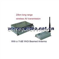 1.2GHz 10W Long Range AV Transmission