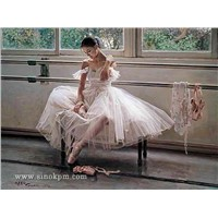 Ballet Oil Paintings - Chinese Oil Paintings