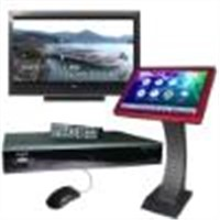 Karaoke Jukebox support 1.5TB SATA Hard Drive/ touchscreen