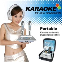 Magic Sing Along Karaoke Player  Support 160GB hard disc and 8pcs SD card