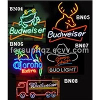 Budweiser Neon Beer Sign