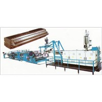 PE,PP Plastic Thick Plates (Sheets) Extruded Prodution Line
