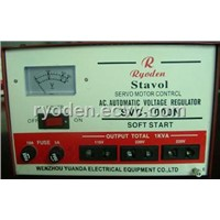 SVC Series High Accuracy Full-auto AC Voltage Regulator( Voltage Stabilizer )