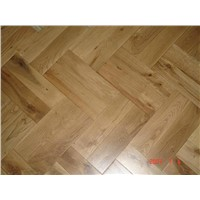 Solid Herringbone Oak Tile (LDP-SOP)