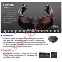 Spy camera sunglasses with mp3 player