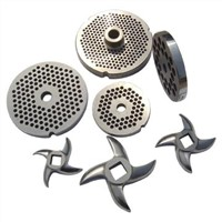 Stainless Steel Grinder Plates and Knives