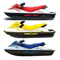 Watercraft with 4 Stroke Suzuki Engine