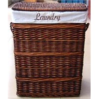 Wicker Laundry Basket