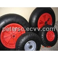pneumatic rubber wheel  16x400-8