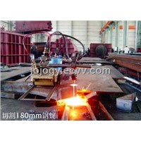 Semi-automatic Cutting Machine (GY50)VS gas cutting