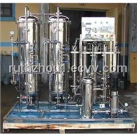 Stainless Steel Water Filtration Treatment Plant