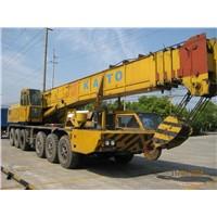 used 50-160Tons truck crane of KATO