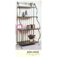 Wrought Iron Flower Stand (DTU-0040)
