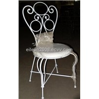 Wrought Iron Chair - Mazie