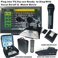Portable Karaoke Hard Disk Player (KOD-100+SJ-100)